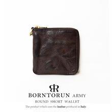 BORNTORUN ARMY  Dカン付きラウンド短財布