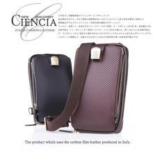 本革 ボディバッグ メンズ レザー 財布機能付き CIENCIA シエンシア