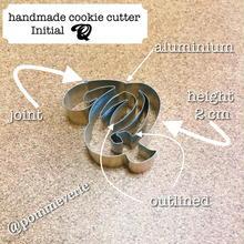 Initial  Q  cookie cutter
