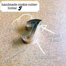 Initial  I  cookie cutter