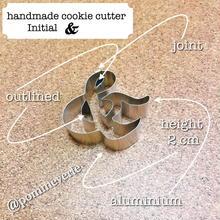 ラテン語 デザイン文字  &  cookie cutter