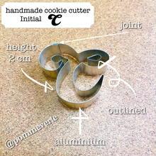Initial C cookie cutter