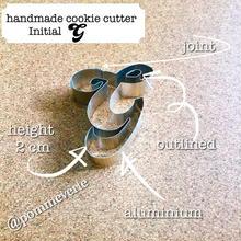 Initial  G  cookie cutter
