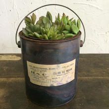 RUSTIC  CANISTER