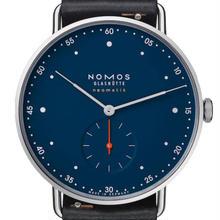【2017新作】【正規品・オーバーホール割引】NOMOS GLASHUTTE At Workシリーズ メトロ ネオマティック 39 ミッドナイトブルー MT130014BL239