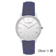 【150周年記念モデル】LARS LARSEN Oliver(LW47)×SUKUMO Leather(縹・はなだ)(LL147SWSSHN)【ペアモデル】