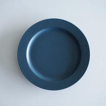 15㎝リム皿  ネイビー