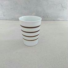 ボーダーカップ   茶