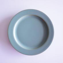 15㎝リム皿     スモーキーグリーン