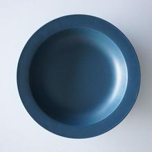 20㎝リム皿  ネイビー