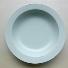 20㎝リム皿  ミントブルー