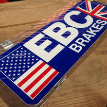 EBC BRAKES sticker