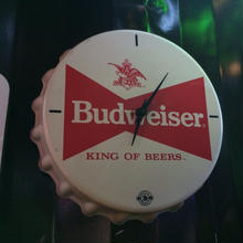 BUDWEISER OLD CLOCK