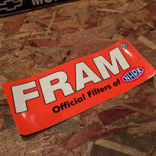 FRAM × NHRA STICKER