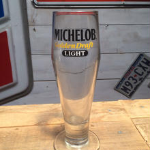 MICHELOB BEER GLASS