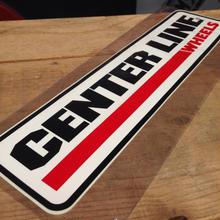 CENTER LINE sticker