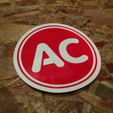 AC PLUG OLD STICKER