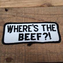 WHERE THE BEEF ヴィンテージワッペン