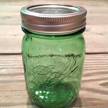 BALL JAR GREEN SMALL SIZE