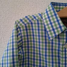 Brooks Brothers チェックシャツ 6-8歳