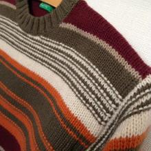 BENETTON 編み込みセーター 6-7歳