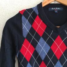 Brooks Brothers アーガイルセーター 6-8歳