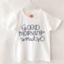 GOOD MORNING nemuiyo (kids)Tシャツ