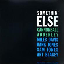 キャノンボール・アダレイ Cannonball Adderley – Somethin' Else サムシン・エルス アナログLPレコード輸入盤