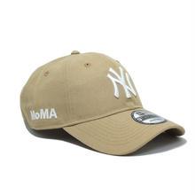 NEW ERA × MoMA 9TWENTY STRAP BACK CAP CAMEL  NY YANKEES ニューエラ ヤンキース キャップ キャメル サンド