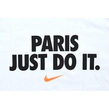 "NIKE ""PARIS JUST DO IT"" TEE WHITE ナイキ Tシャツ パリ限定 ホワイト"