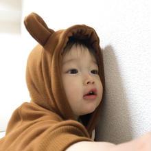 【即納商品】☆かわいいクマ耳付きロンパース☆