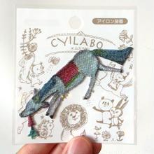 CYLABO x ムカラ刺繍
