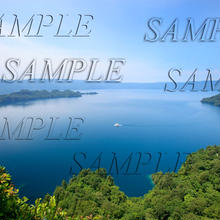 十和田湖4 size:L