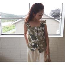 botanical blouse