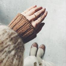 KARMAN LINE wool cotton cashmere hand warmer