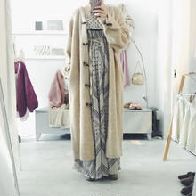 KiiRA アルパカ knit long cardigan
