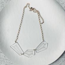 アクリルダイヤモンド ネックレス