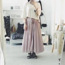 femme robe オリジナル cotton gather  skirt