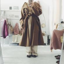 Dahlia big pocket wool long coat