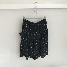 〔 ilian loeb 〕お花柄の culotte pants