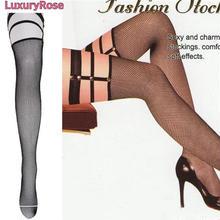 【LuxuryRose】SEXYハーネスガーター網タイツ