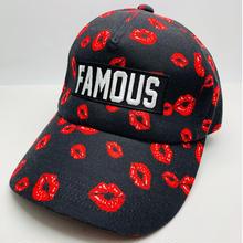 【World wide Famous】 ワールドワイドフェイマス LIP リップ柄 キャップ CAP 18AW