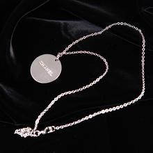 【CHANEL】正規ノベルティ ユニセックスで付けられる♪ロゴ刻印チェーン ネックレス
