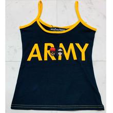 "【World wide Famous】KIMYE  ""ARMY""   キャミソール"