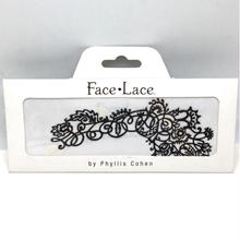 【Face Lace】メイクアップ ステッカーMehndooddle
