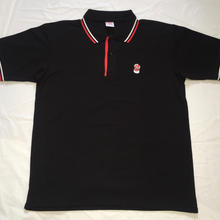 G13 ORIGINAL POLO SHIRT  BLACK/RED