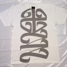 G13 ORIGINAL 十三LOGO T-SHIRT  WHITE/GRAY