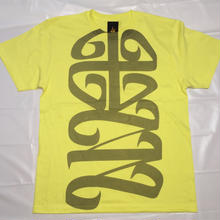 G13 ORIGINAL 十三LOGO T-SHIRT  LIGHTYELLOW
