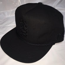 G13 ORIGINAL POPLIN CAP JUSO十三 BLACK/BLACK