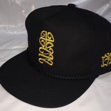 G13 ORIGINAL POPLIN CAP JUSO十三 BLACK/GOLD